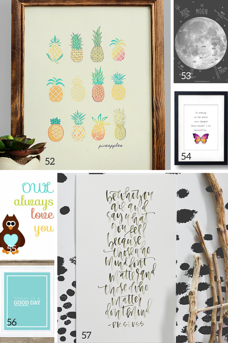 best free nursery wall art