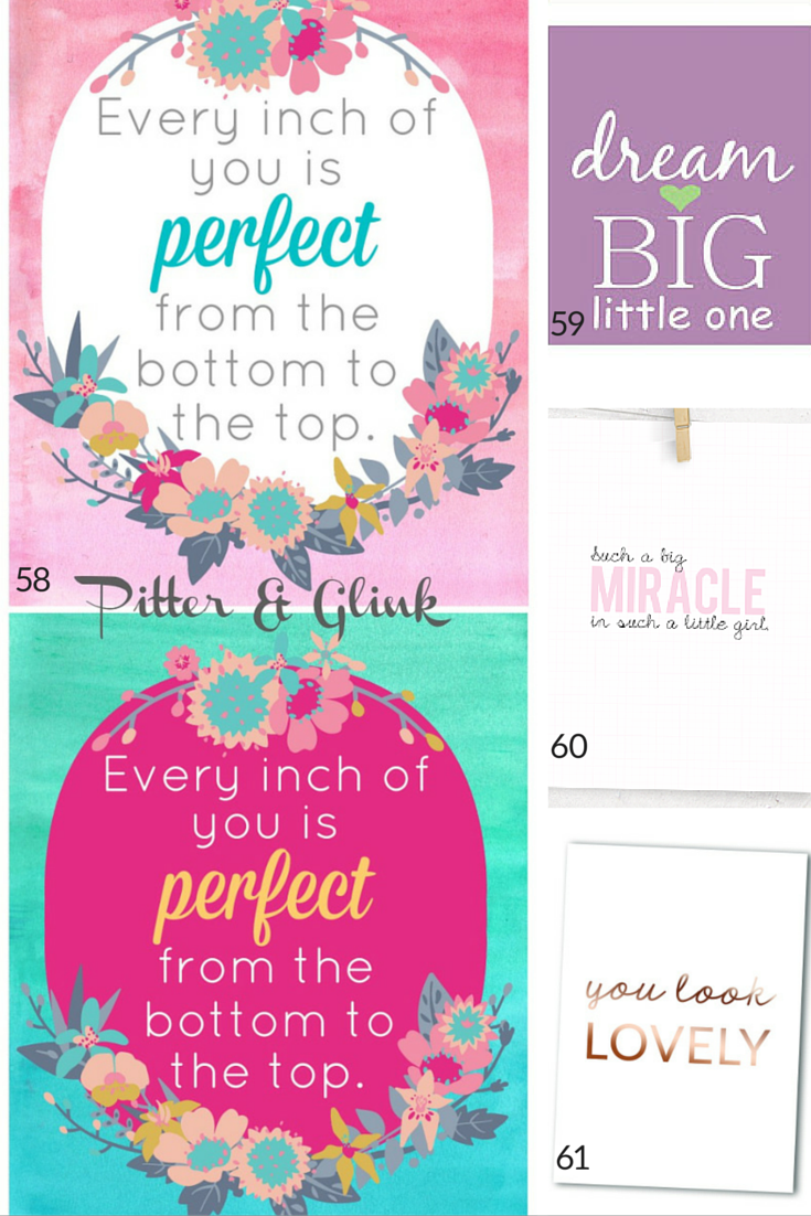 best kids room free printables