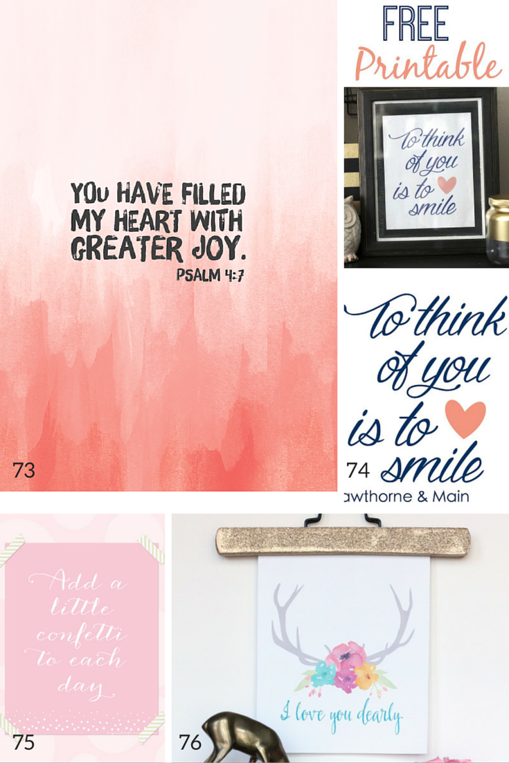 100 Free Nursery Printables Thatll Look Good In Every Babys Room