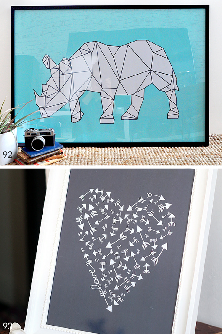 The largest collection of free wall art printables anywhere!!