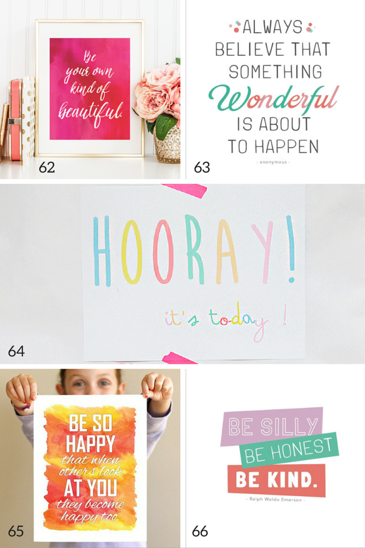 the best free kids wall art prints