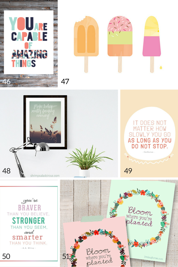 photo relating to Free Printable Nursery Art known as 100 No cost Nursery Printables Thatll Glimpse Fantastic Inside of Each