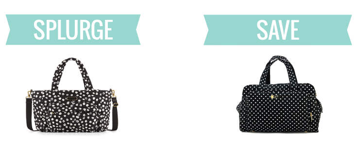 Splurge or steal? There's a diaper bag here for any budget!