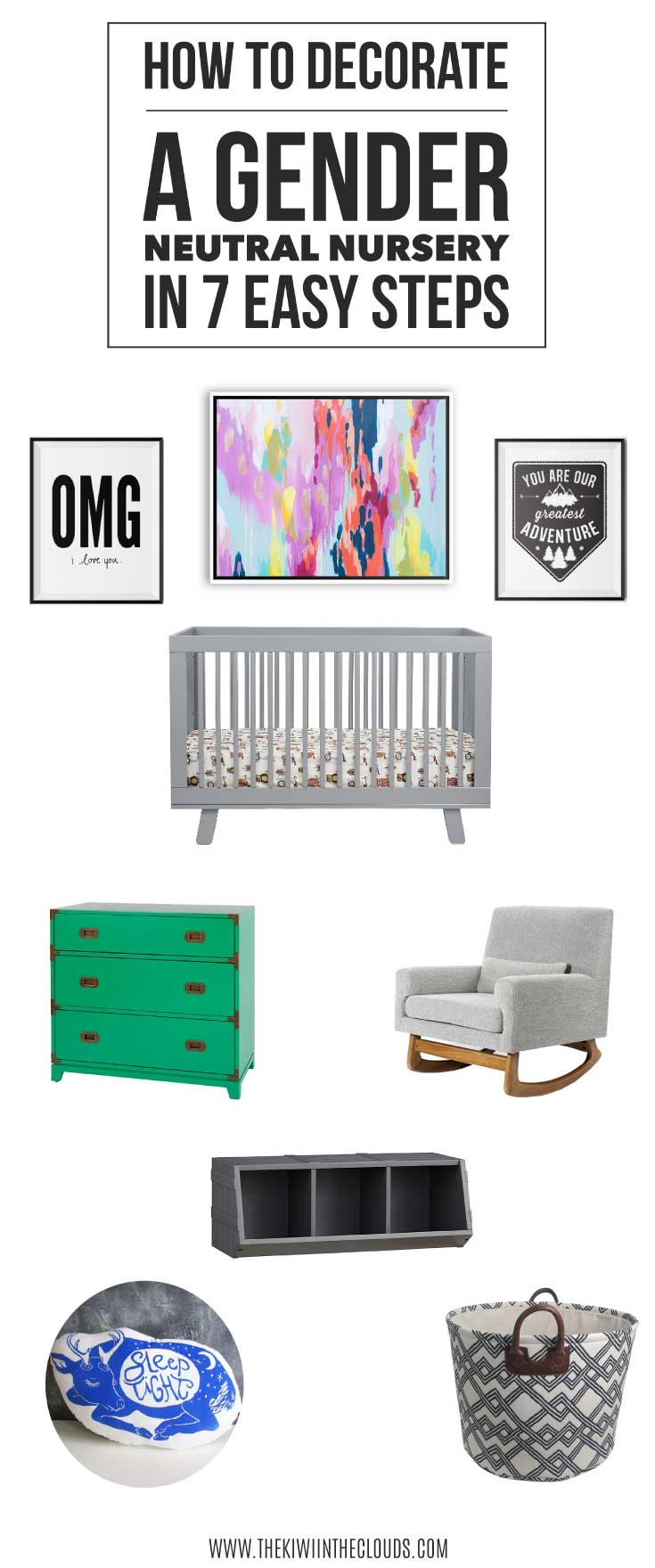 how to decorate gender neutral nursery