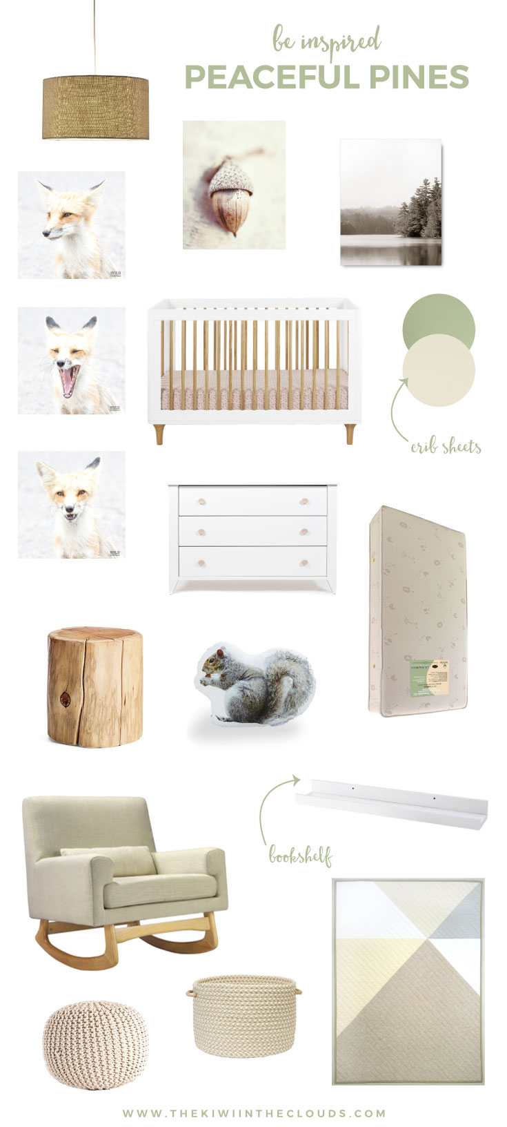 gender neutral woodland nursery ideas