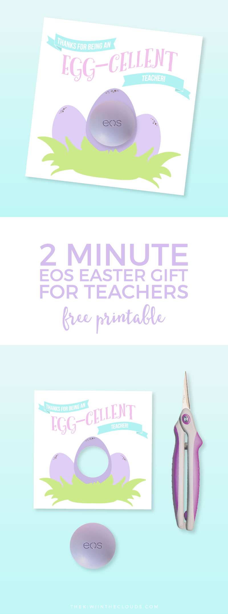 A dead simple easter gift for teacher printable easy easter gift for teacher come enjoy your free download and make your kids teacher negle Image collections