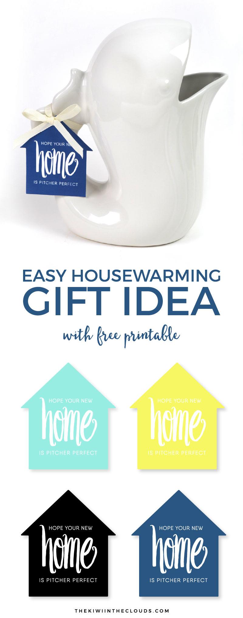 DIY Housewarming Gift Idea | New Home Gift | Gift Ideas | Free Printables