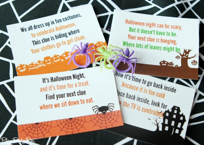Celebrate Halloween in a spooky way that kids will love with these free Halloween printables. There's treat bags toppers, bingo, tags, scavenger hunts and more!!
