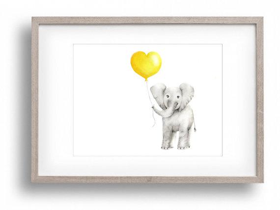 Elephant Nursery | Elephant Nursery Girl Boy Baby