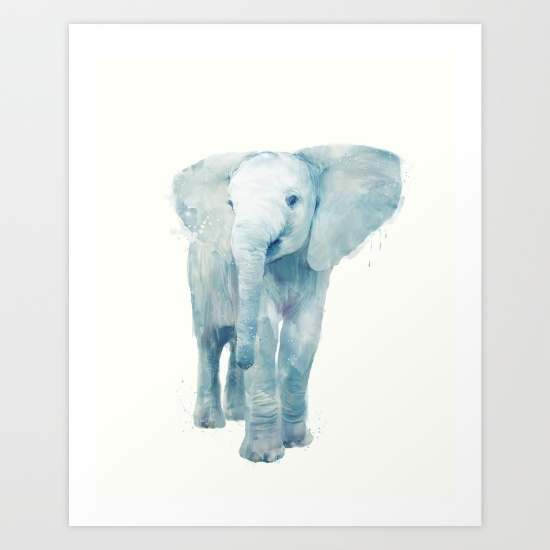 Elephant Nursery | Gender neutral nursery