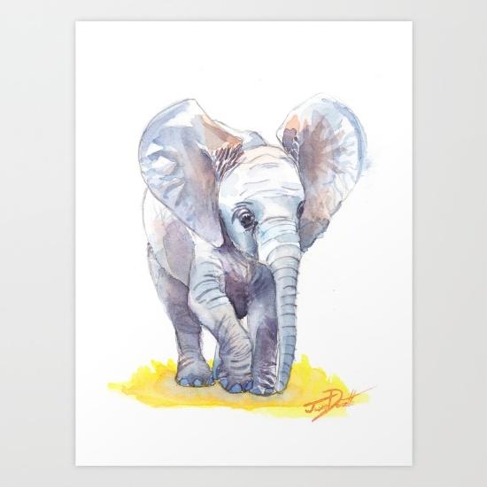 Elephant Nursery Ideas | Elephant Nursery Art