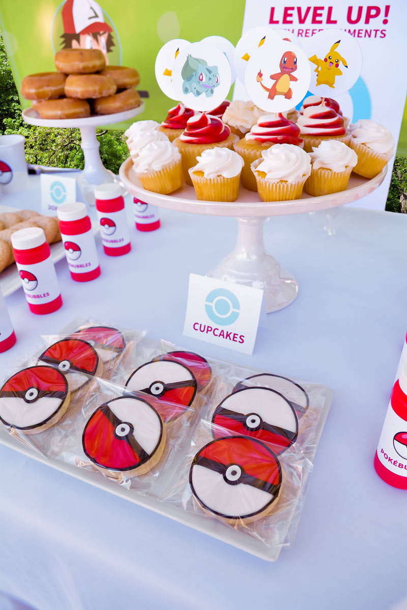 Throw your kid a modern and cool Pokemon party with these printables.