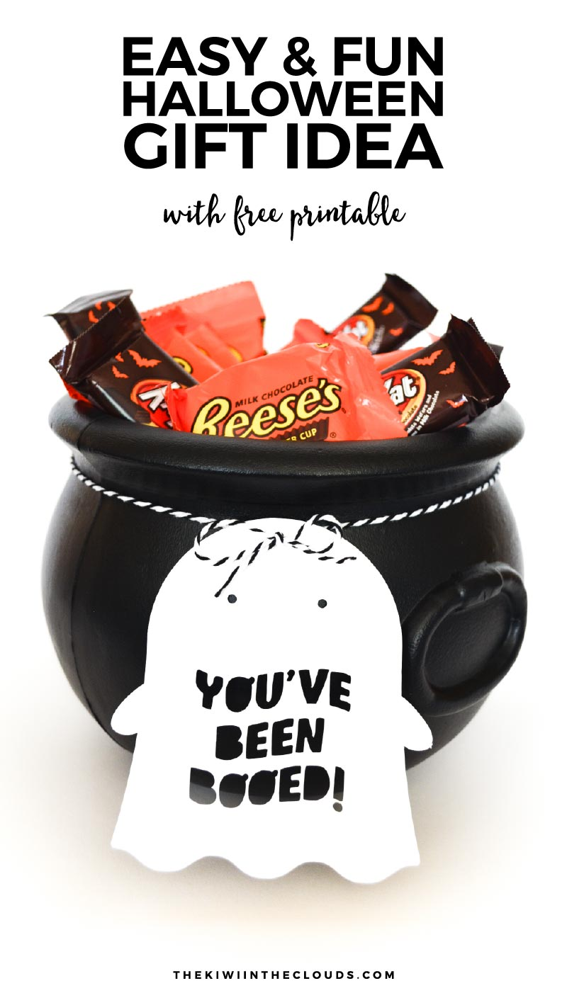 Throw together a last minute youve been booed neighbor gift to spread a little Halloween spirit to your family and friends!