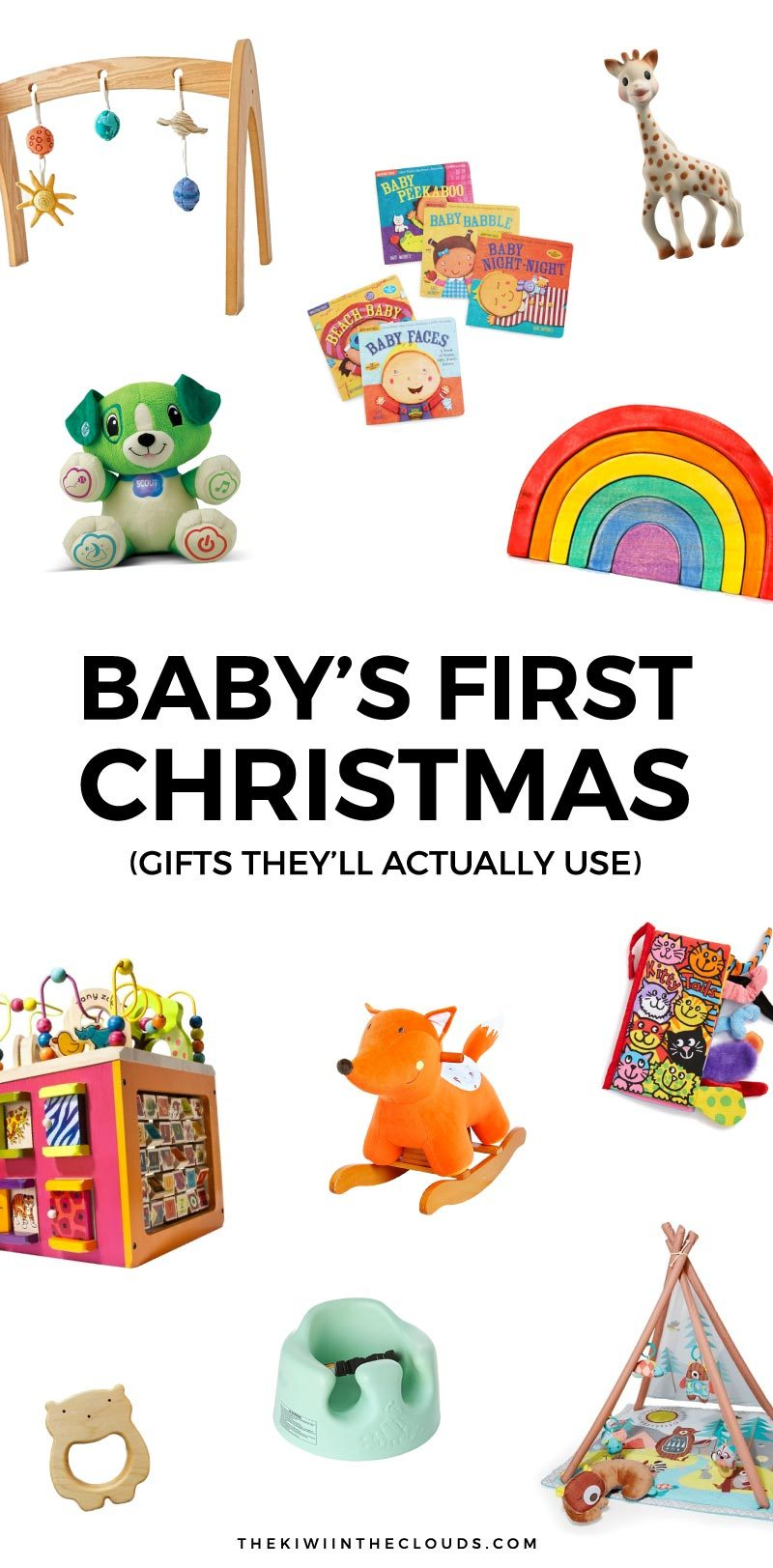 11 Baby\'s First Christmas Gifts That Will Actually Get Used