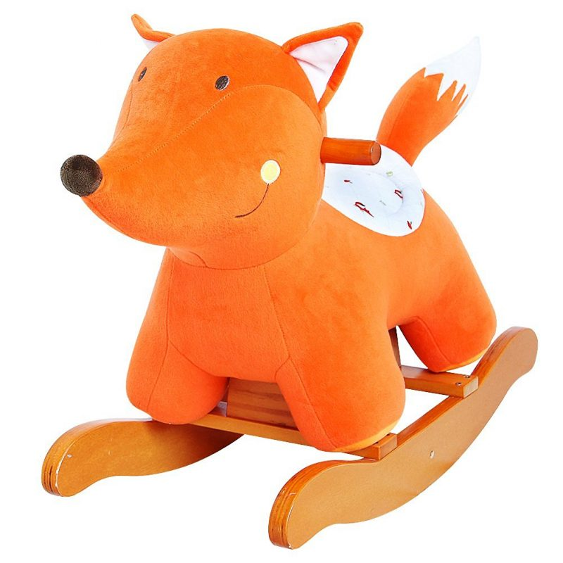 Baby's First Christmas Gift Ideas   Rocking Horse Fox   Kids Gift Idea