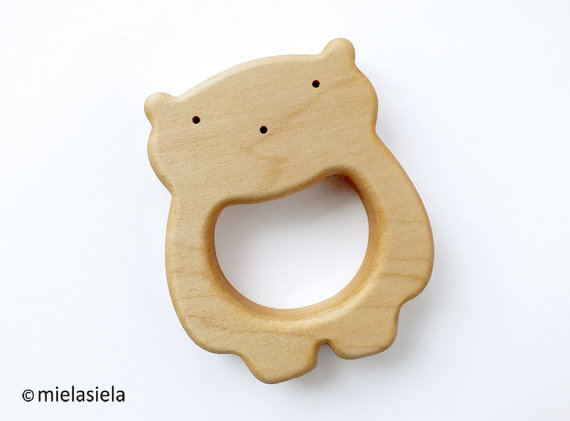 Baby's First Christmas Gift Ideas   Teething Toys   Wooden Teether