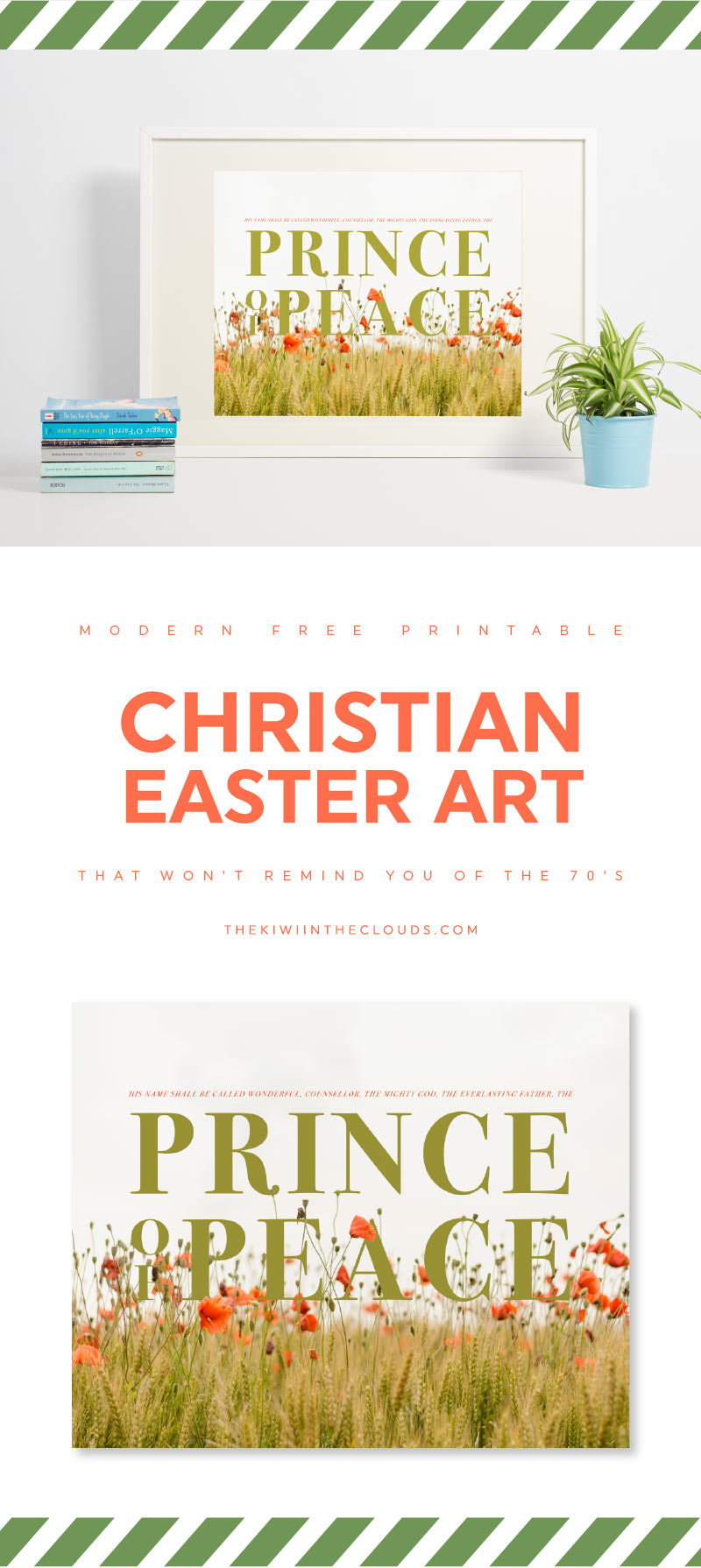 religious easter art | free printables | holiday decor | christian easter artwork