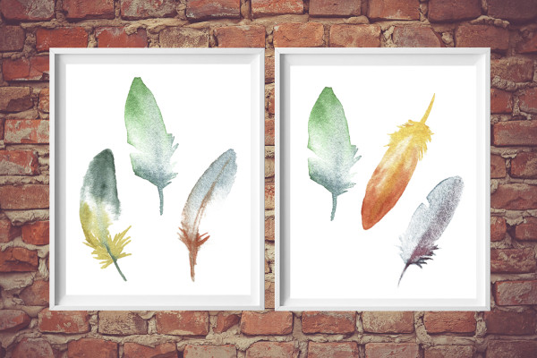 free printable download | feather art