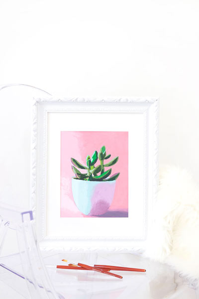 diy art print | free printable