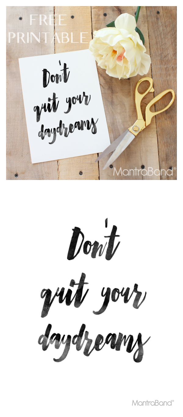 inspirational art | free printable