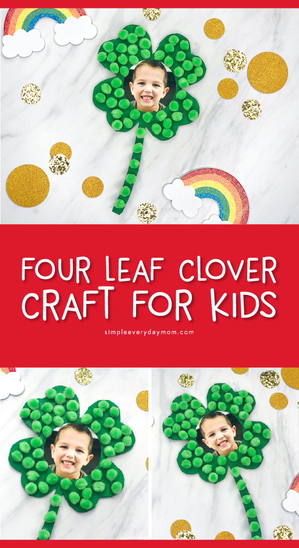 four leaf clover craft for kids