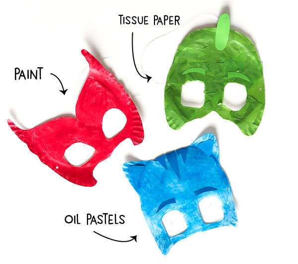 graphic relating to Pj Masks Printable Images named A Colourful PJ Mask Printable Craft Your Minor Types Will