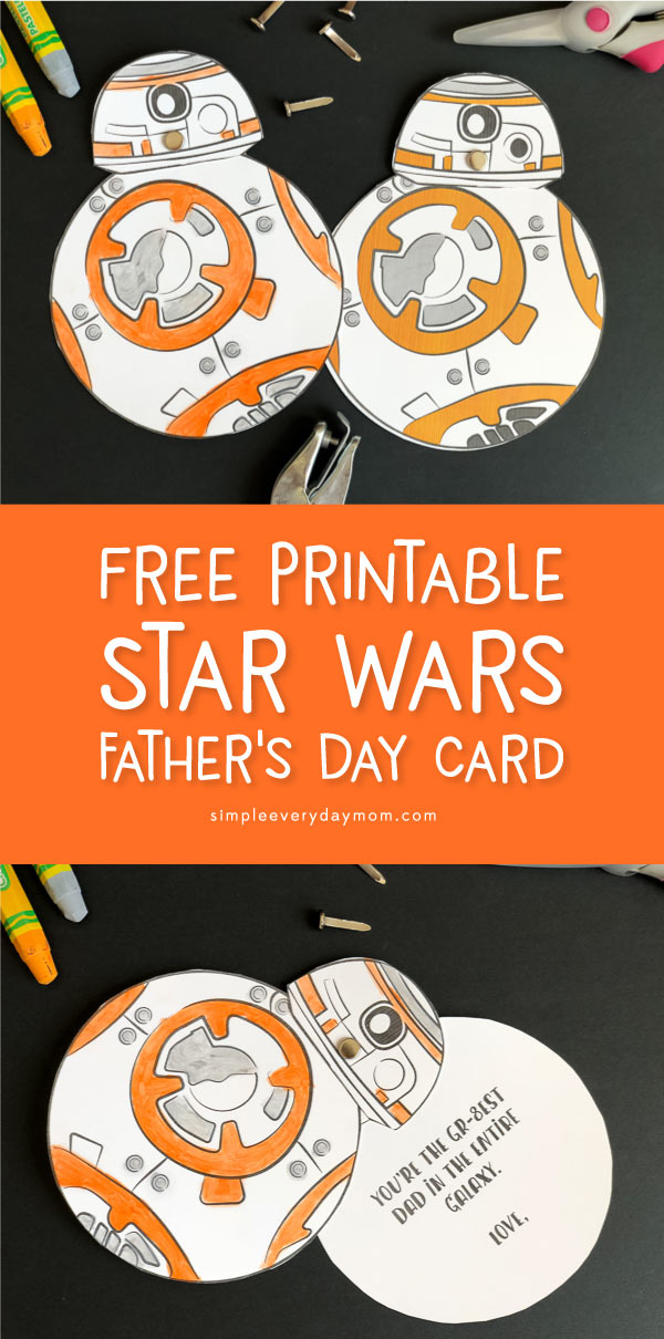photograph regarding Star Wars Printable Cards called Father Will Take pleasure in This Cost-free Printable Star Wars Card For