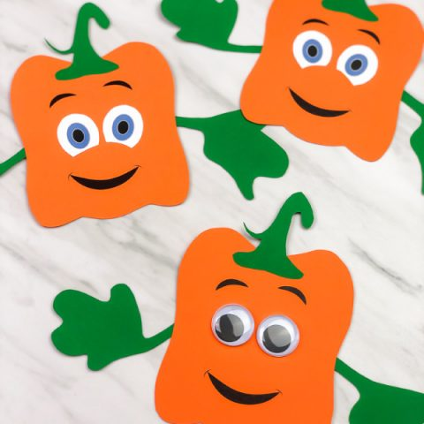 Spookley The Square Pumpkin Craft For Kids