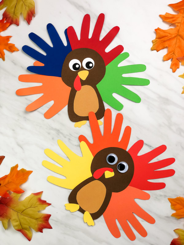 thanksgiving handprint craft