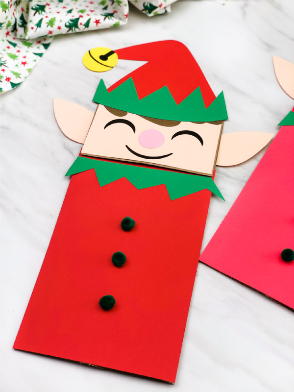 elf puppet craft