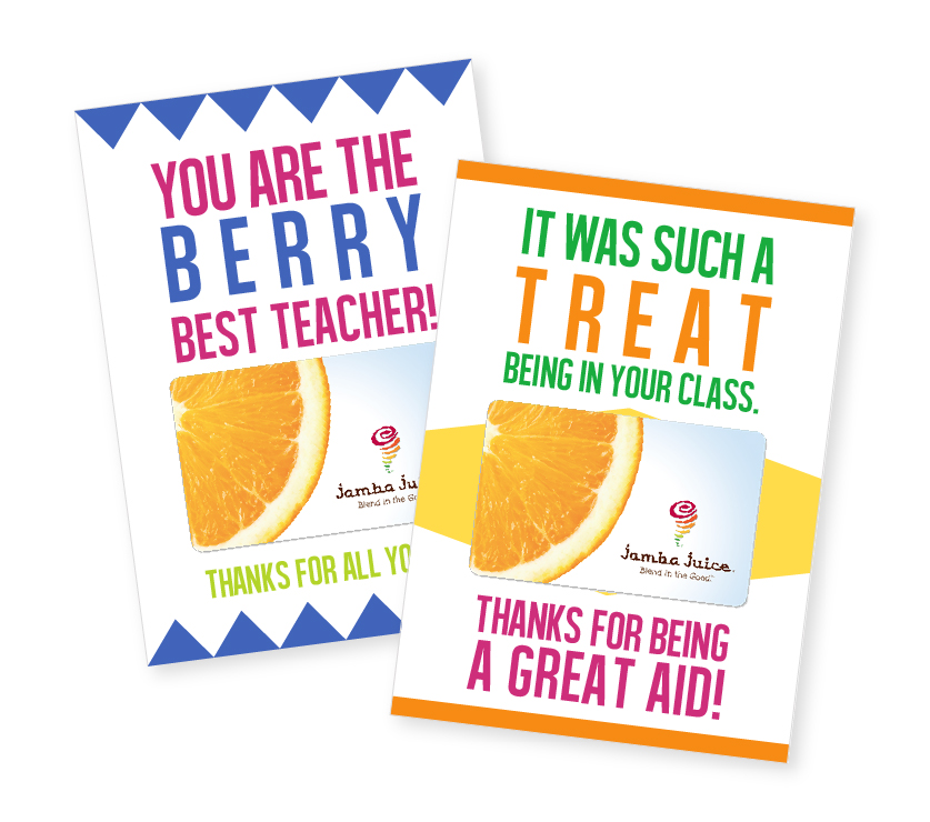 FREE Printable Teacher Gift Card Holder | Let your kid's teacher know just how much you appreciate them by giving them this sweet gift holder printable. Perfect for end of the year gift!