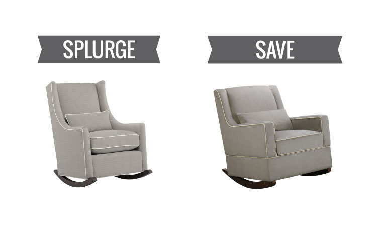 Nursery Gliders and Rockers for Any Budget