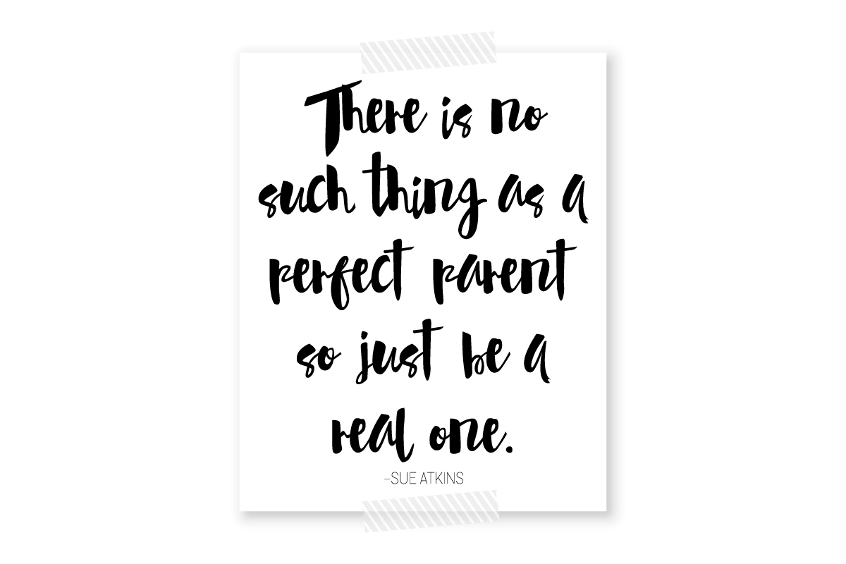 no such thing as a perfect parent