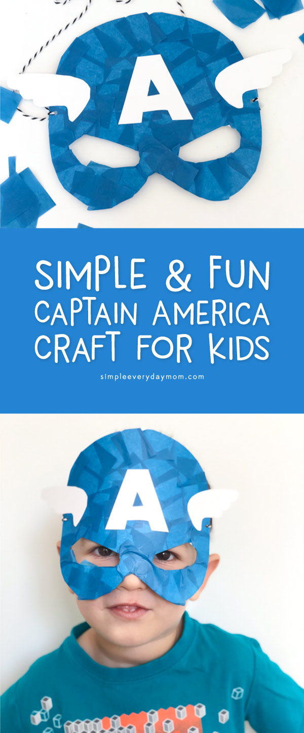 photo regarding Superhero Printable Mask titled This Printable Captain American Mask Will Pride Your