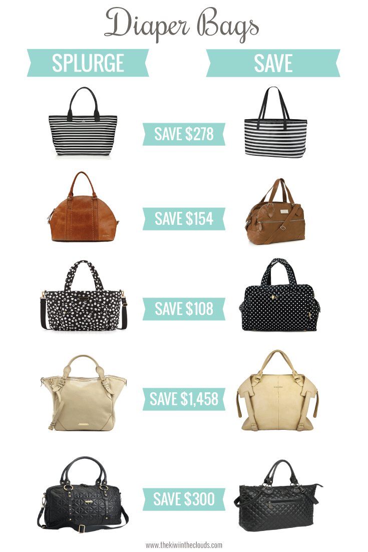 splurge vs save diaper bags for every budget