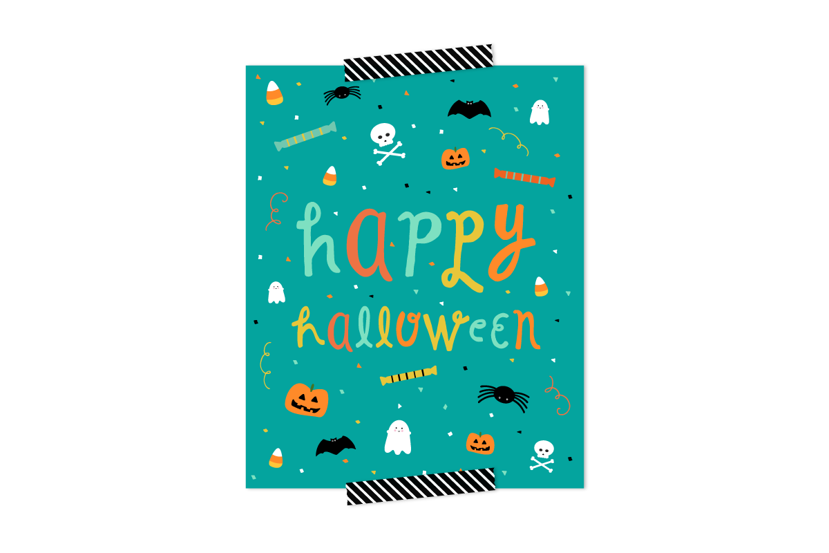 picture relating to Halloween Decorations Printable titled Youngster Helpful Halloween Decorations: Cost-free Printable
