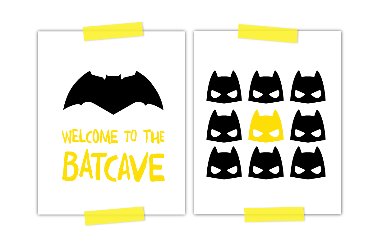 picture relating to Batman Printable titled 2 Amazing Absolutely free Batman Printables Each and every Tiny Boy Prerequisites