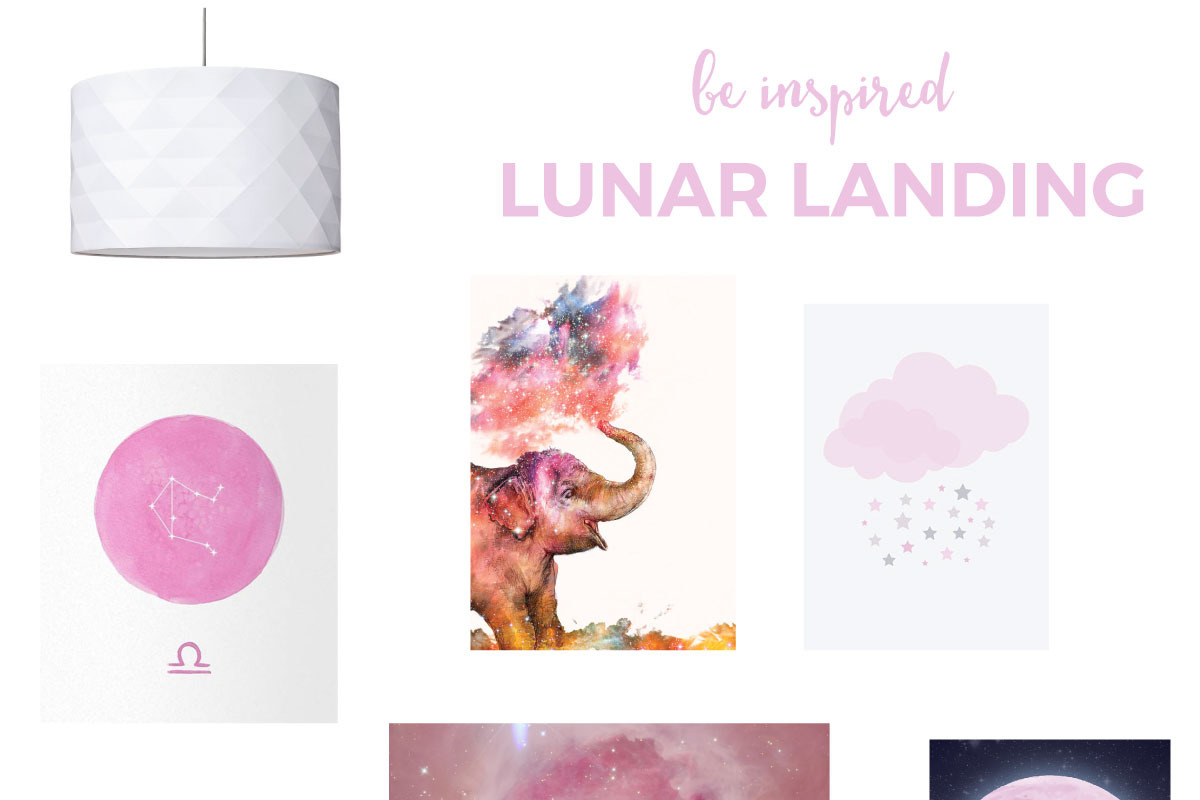 Space Themed Nursery For Girls
