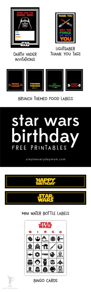 Throw An Amazing Yet Simple Star Wars Themed Birthday Party For Your Son It