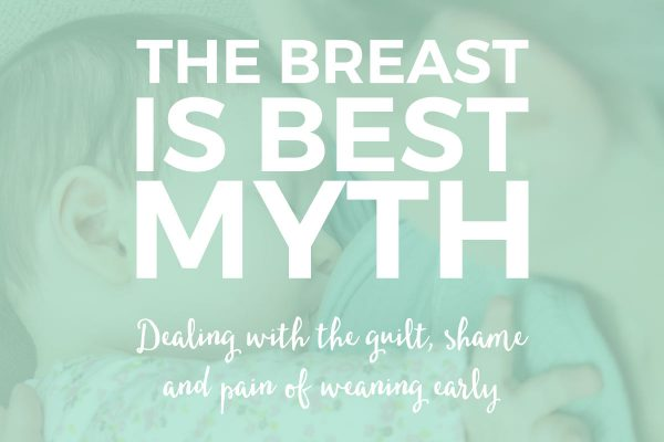 """The Breast is Best Myth 