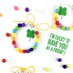 easy st patricks day rainbow bracelet