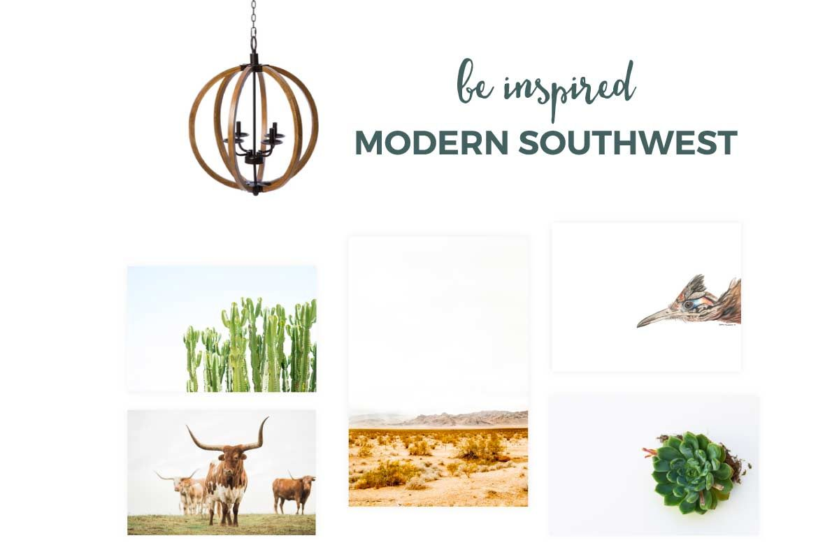 Southwest Baby Nursery Decor | Embrace the natural beauty of the southwest with this modern and stylish nursery for boys and girls. Click through for all the details.