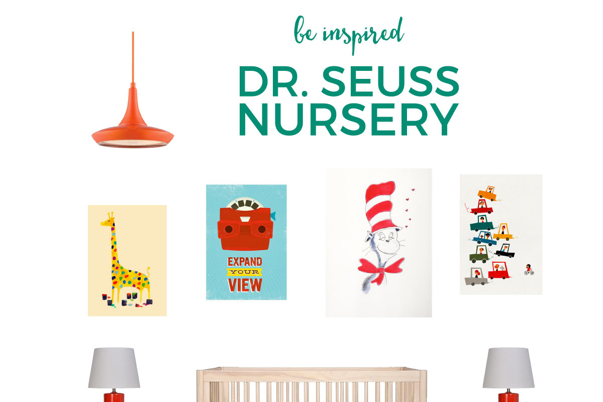 Create this Dr Seuss nursery and relive the wonder, imagination and creativity of one of the most popular author's ever!
