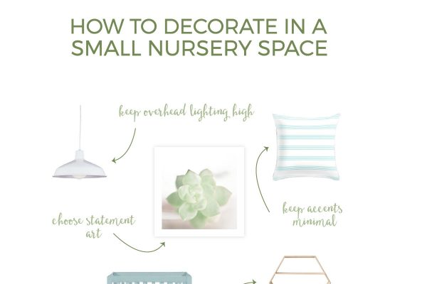 Are you struggling to plan a small nursery for your baby, but you're stumped on how to maximize the space you have? Make it easier on yourself by learning these 9 simple steps to decorating a small nursery.