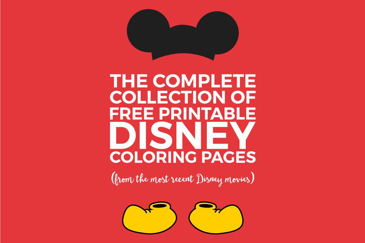 Famous Free Printable Disney Photo - Framing Coloring Pages ...