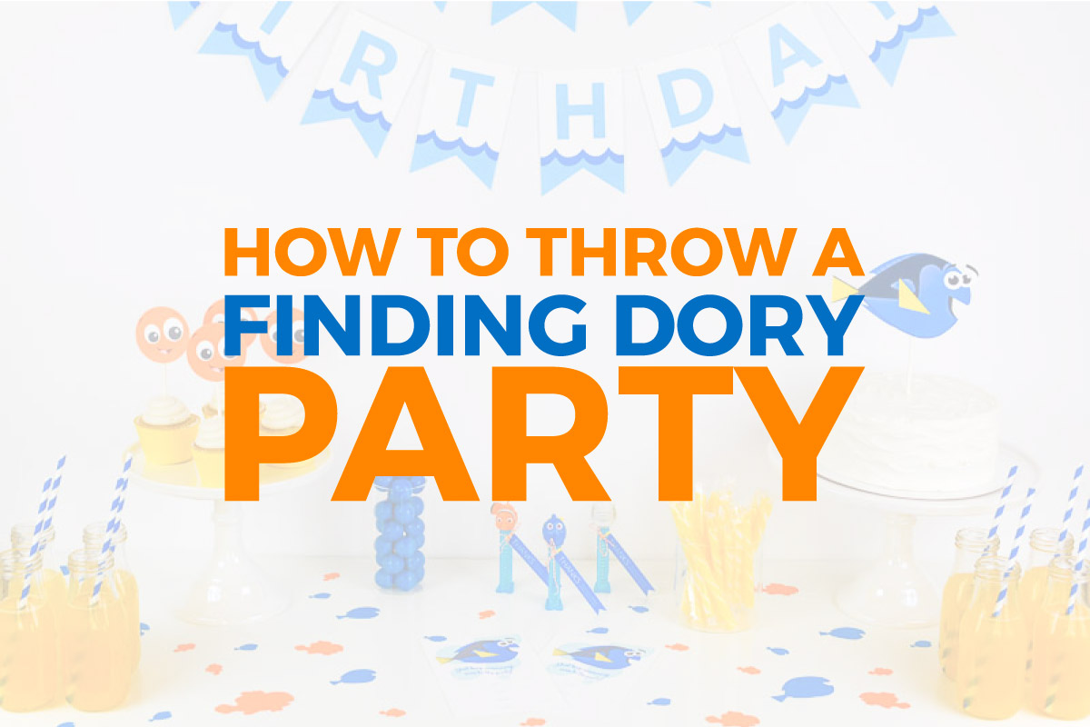 Join in on all the excitement of the Finding Nemo sequel with this Finding Dory birthday party guide that includes lots of fun & FREE printables! This party is sure to be a hit with your kids!
