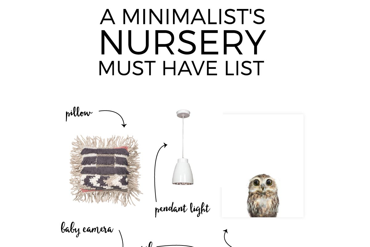 This fabulous guide shows you how to use nursery essentials to create a minimalist nursery filled with style and function. And bonus: it comes with a FREE nursery planning checklist! Click through for all the source details and to download your free checklist.