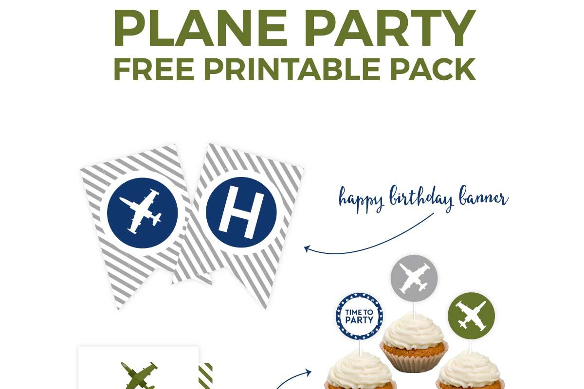 put together that airplane birthday party that your little boy has always dreamed of in an