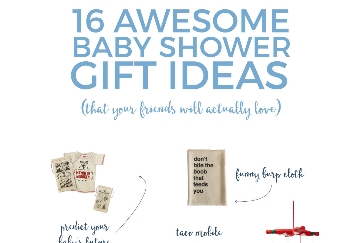 Give your friends the best baby shower gifts with these quirky, sentimental, and practical baby shower gift ideas.