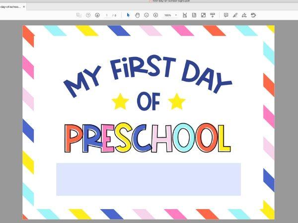 editing school sign in Adobe Reader